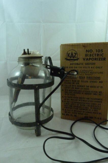 vintage 1950 s kaz electric vaporizer humidifier model 95 in