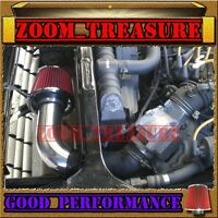 Red Cold Air Intake Kit For 1975-1983 Nissan Datsun 280z 280zx With 2.8l N/t