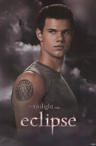 Twilight eclipse jacob sigil tattoo 24x36 movie poster for Twilight jacob tattoo temporary
