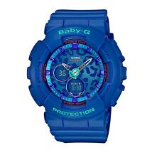Casio Baby-G * BA120LP-2A Blue Leopard Dial Anadigi Watch COD PayPal