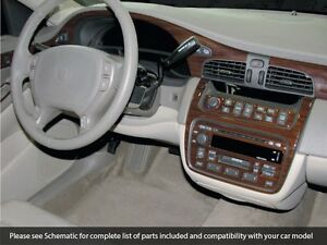 Details About Premium Wood Dash Trim Kit 34 Pcs Fits Cadillac Deville 2000 2005 Model
