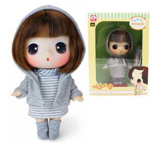 "ddung Big Eye Doll w// Tennis Sport Suit for Girlfriend Girls Toy Gift 7/"""