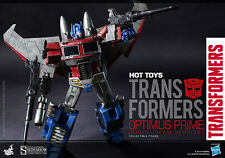 Sideshow Hot Toys 30cm Optimus Prime Starscream Version Transformer Figure TF001