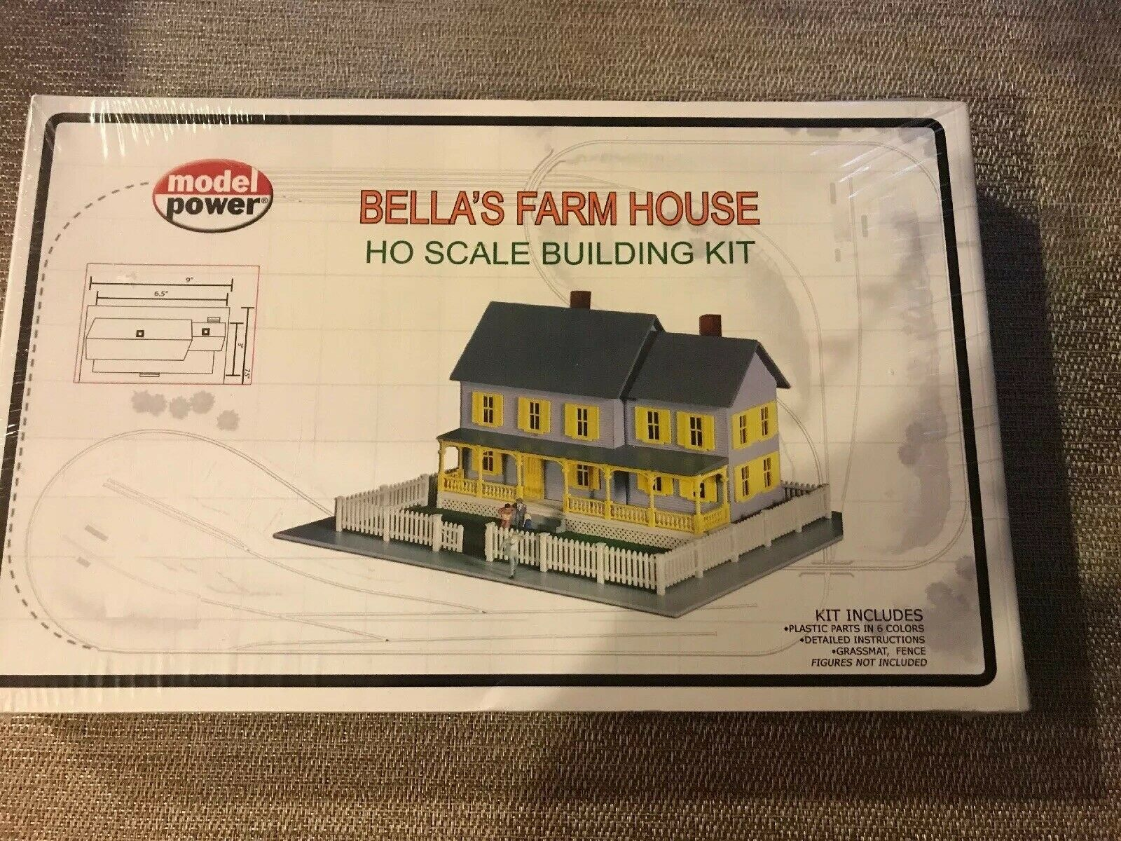 Model Power Bella's Farm House HO Scale