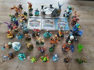 3 jeu Skylanders Giants, Swap Force et Trap Team (PS3) + 44 figurines