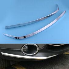 Chrome Front Bumper Edge Strips Frame Trim fit for Nissan Qashqai J11 2014-2016