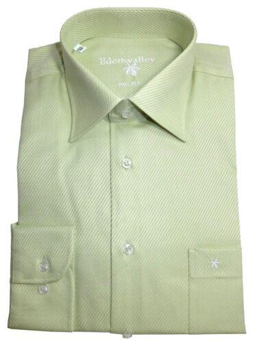 40 41 42 43 libero di staffa Eden Valley Uomo camicia manica lunga struttura newkent tg