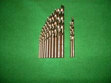 HSS-Co Trapano A Spirale DIN 338/va 13 PZ 1,5 mm - 6,5 mm + 3,2 + 4,8 mm