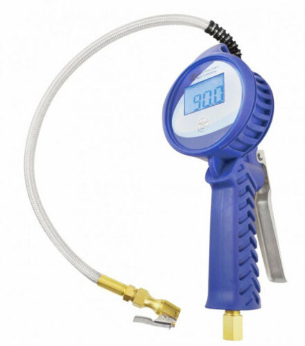 Tire Inflator Digital with Stainless Braided Hose Astro Pneumatic 3018