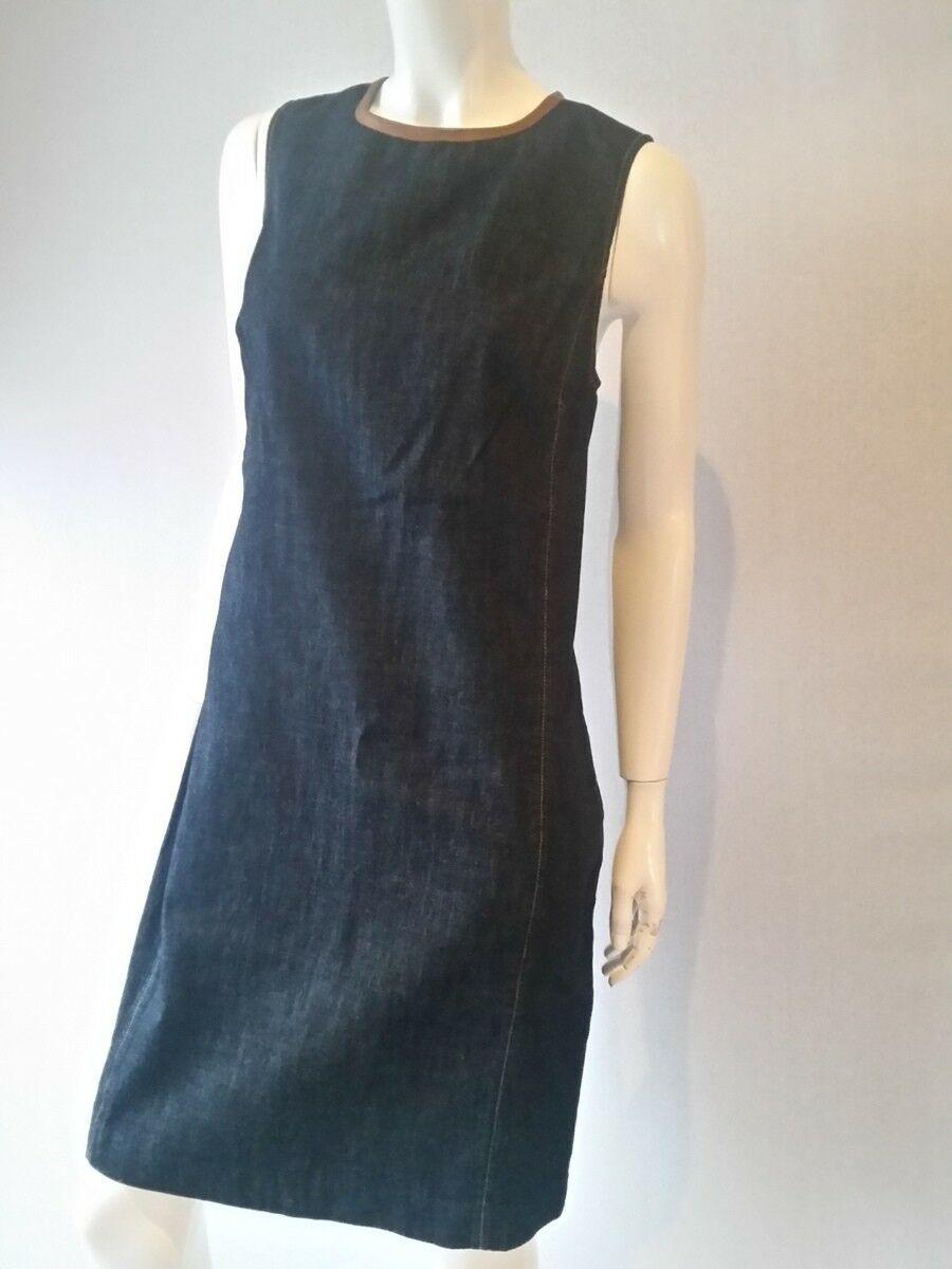 LAUREN Ralph Lauren Kleid dress Jeans Jones ST Gr.42 UK14 US10NEU