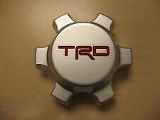 """TOYOTA TRD SILVER 16"""" ALLOY WHEEL CENTER CAP 01-14 TACOMA 07-14 FJ CRUISER 2014"""