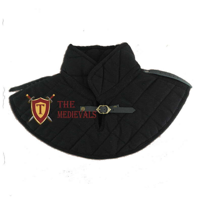 Medieval COLLAR Knight Armor costumes Gambeson cotton chausses LARP Renaissance