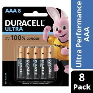 Duracell Ultra Alkaline AAA Batteries 8pk