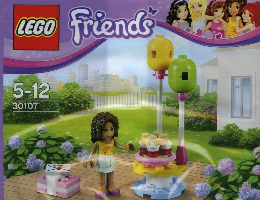 NEW 10 SETS Lego Lego Friends BIRTHDAY PARTY ANDREA 30107 Polybag PARTY FAVOR
