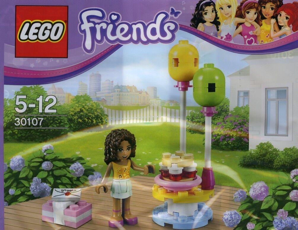 Nouveau 10 Ensembles Lego Lego Friends Fête D'Anniversaire Andrea 30107