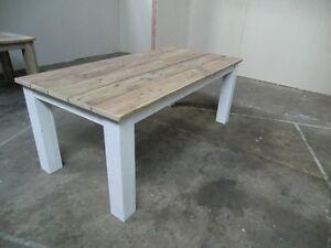 Details zu Tisch Möbel Esstisch Küchentisch 220 - 100 - 76 Bauholz Möbel  Gartenmöbel