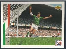 UPPER DECK WORLD CUP USA 1994- #174-EIRE/TRANMERE-REAL SOCIEDAD-JOHN ALDRIDGE