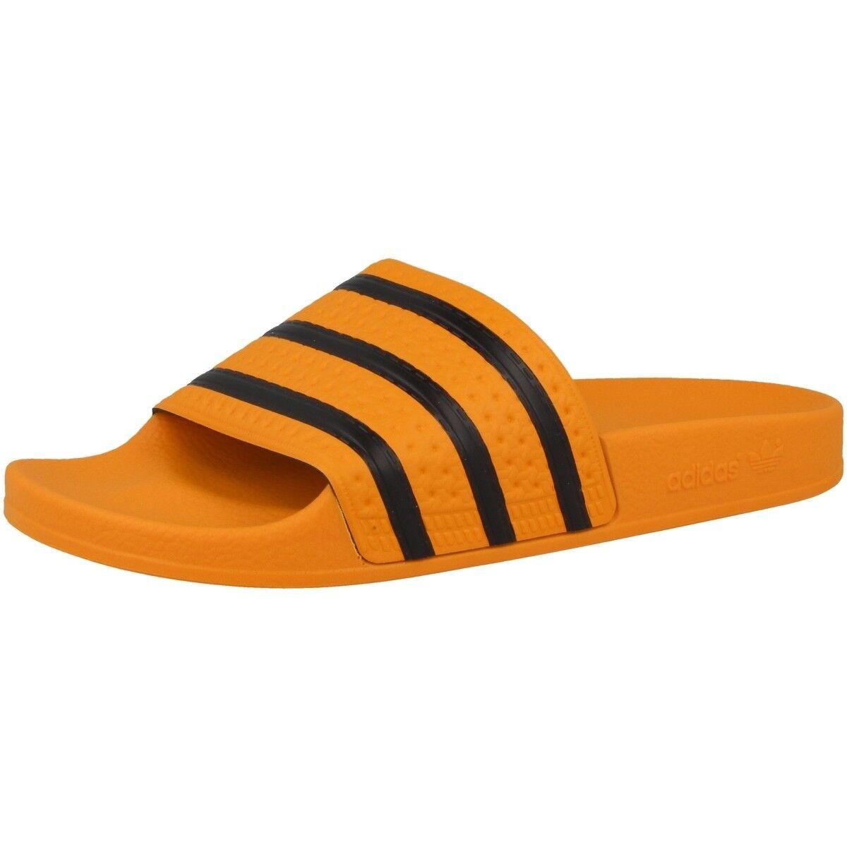 Adidas Adilette Chanclas Baño Zapatos para baño mocasines sandalias, sandalias, sandalias, zapatos naranja cq3099  hasta un 50% de descuento