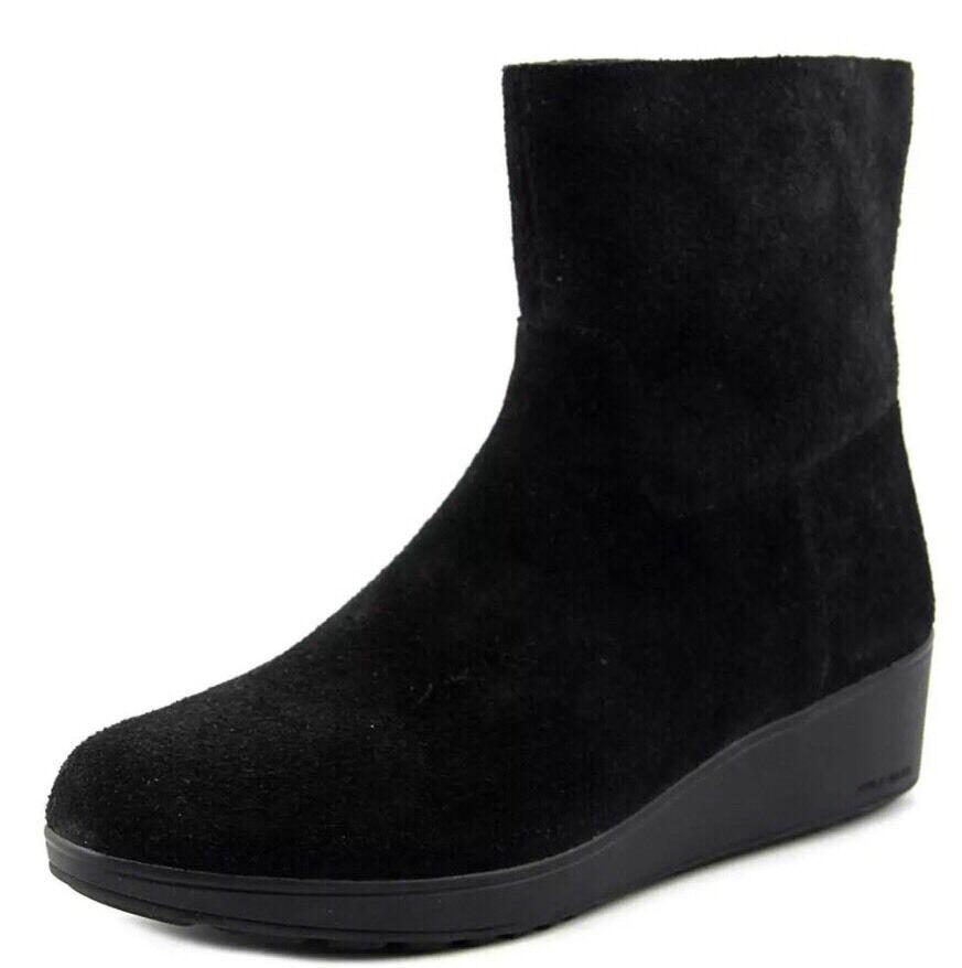 Cole Haan Anka Women Black Bootie Size 8.5