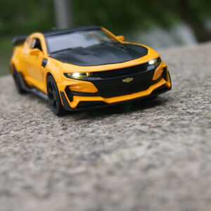 Image Is Loading Chevrolet Camaro Blebee 1 32 Model Cars Sound