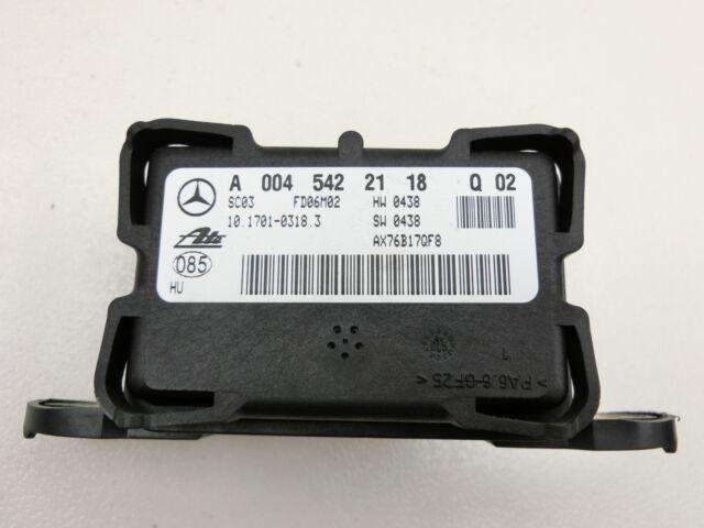 Appareil de commande ECU module Capteur de taux de rotation ESP pour W221 S500