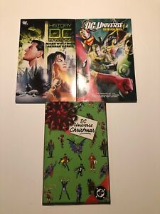 Dc-Universe-Graphic-Novel-Tpb-Lot