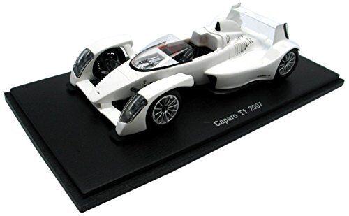 Caparo T 1 2007 blanc 1 43 Model S0628 SPARK MODEL
