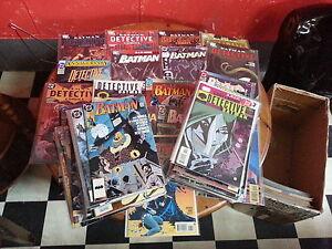 DC-Comics-Job-Lot-of-5X-Batman-Comics-1990s-to-2000s-VF-NM
