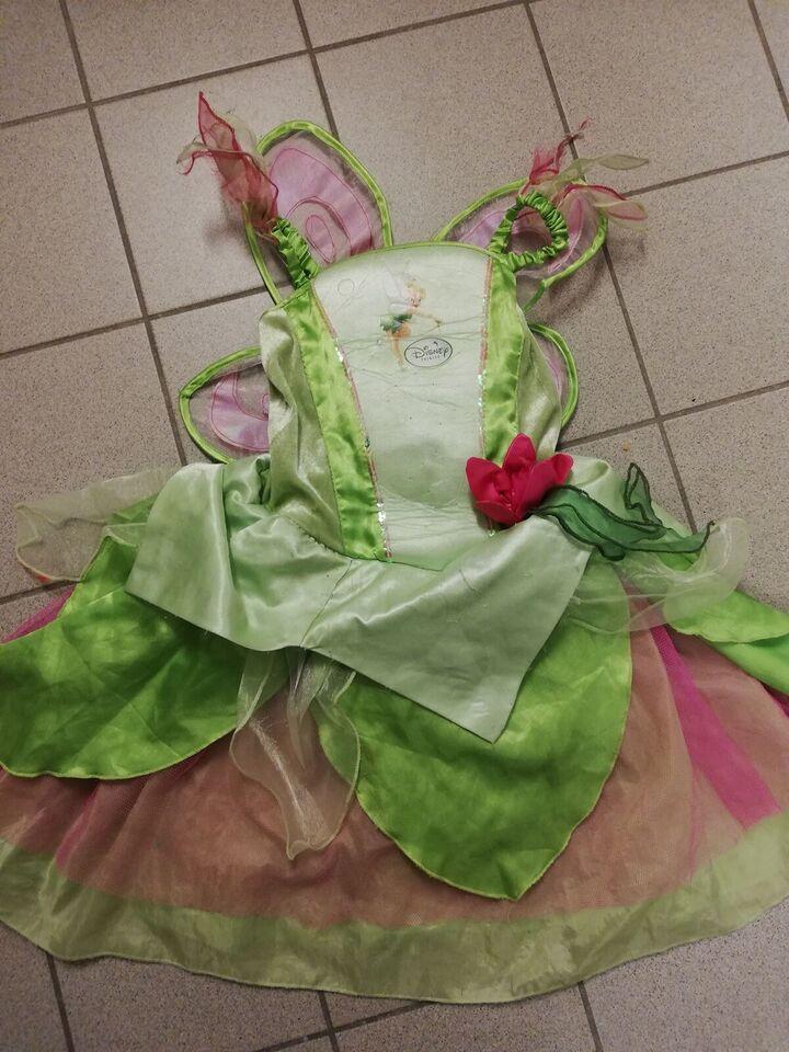 Udklædningstøj, Klokkeblomst kjole prinsesse disney,