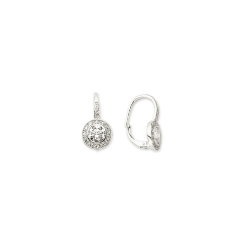 925 Sterling Silver Cubic Zirconia Stunning Sparkly Drop Earrings
