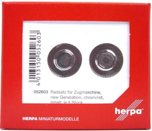 und Zwillingsreifen für Zugmaschine #052603 HERPA Zubehör 1:87//H0 Radsätze Lenk