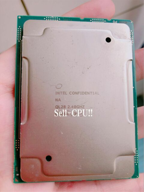 Intel Xeon Gold 6148 ES QLNS 2.4GHz 27.5MB 20Core 14nm 205W 40Threads LGA3647