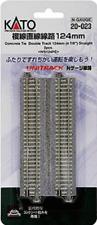 "KATO 20-023 N Unitrack 124mm 4 7/8"" DBL Straight Track"