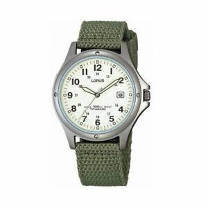 Lorus-Gents-Titanium-Military-Style-Webbing-Strap-Watch-RXD425L8-LNP