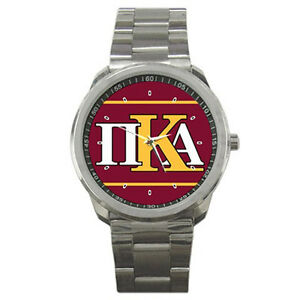 Hot-NEW-Pi-KAPPA-Alpha-style-for-sport-metal-WATCH-FREE-shipping