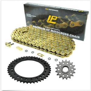 Motorcycle-Chain-amp-17T-43T-Sprocket-Kit-For-Honda-VFR800-F1-530-O-ring