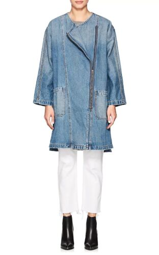 W 2 Davida Large Coat New Tags Trench size Elliott Denim Current The CSwycqBxP0