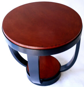 Details About French Art Deco Sidetable Dominique Style Or Manner