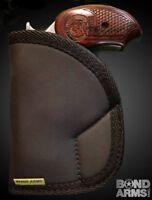 Davis Cobra Derringer 38 Spl Sticky Holster Conceal Carry Bond Black Iwb Pocket