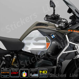 2-Adesivi-Fianco-Serbatoio-BMW-R1200-1250-gs-Adv-LC-gray-military-green-orange