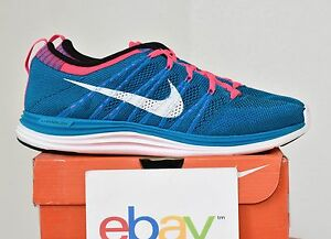 ebb2d17dd7e0 New Mens Nike Flyknit One+ Neo Turquoise Blue Sizes 9-14 pink 1 free ...