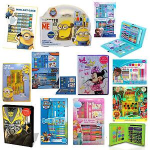 Disney & Kinder Charakter Spaß Spiel Schule Activity Schreibwaren Kunst Reiseset