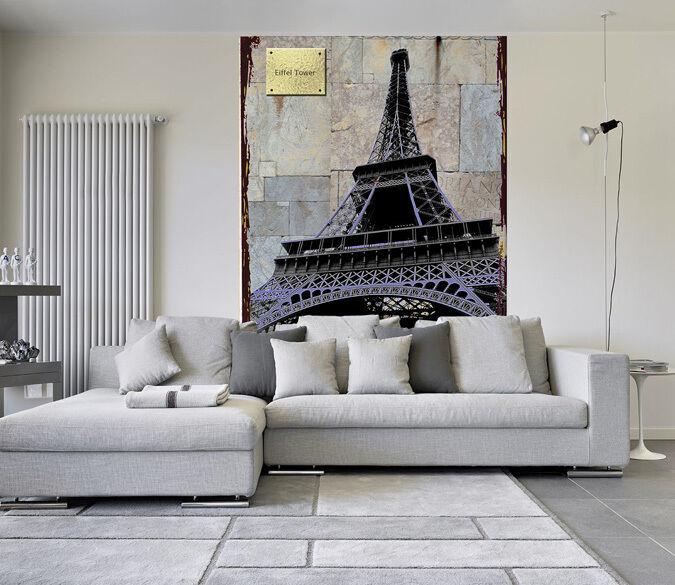 3D Tower in Paris next 1WallPaper Murals Wall Print Decal Wall Deco AJ WALLPAPER