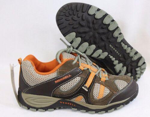 NEW Boys Kids Youth MERRELL Yokota Trail Ventilator MY52065A Brown Sneaker Shoes