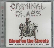 CRIMINAL CLASS - BLOOD ON THE STREETS - (still sealed cd) - AHOY CD 155