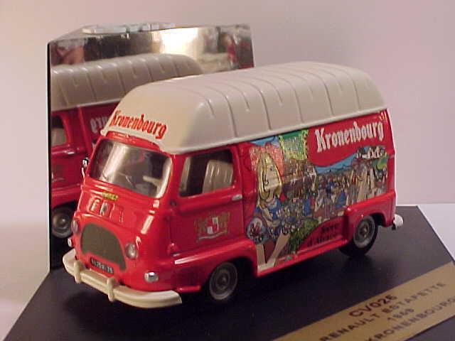 City Models  C025 1 43 1959 Renault Estafette Kronenbourg Transporter mit Voll