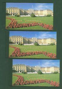 1998 - UNESCO Welterbe - Schönbrunn - UNO Wien + Genf + New York - alle 3 MH