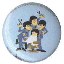 The Beatles ATV Cartoon 1 inch button pin badge Official Merch