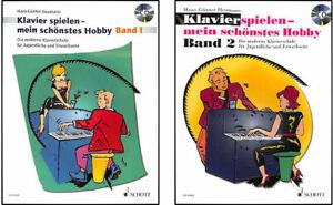 Klavierspielen-mein-schoenstes-Hobby-Band-1-CD-oder-Band-2-Online-Audiodatei