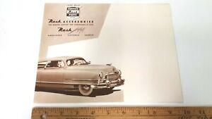 1951-NASH-Original-Sepia-Color-Accessory-Folder-Excellent-Condition-US